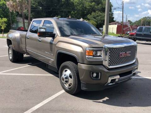 2015 GMC Sierra 3500HD for sale at Consumer Auto Credit in Tampa FL