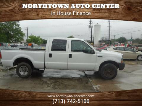 2004 Ford F-350 Super Duty for sale at Northtown Auto Center in Houston TX