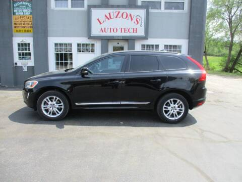2015 Volvo XC60 for sale at LAUZON'S AUTO TECH TOWING in Malone NY