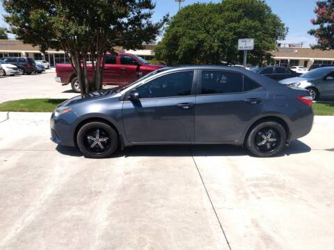 2014 Toyota Corolla for sale at Solo Auto Group in Mckinney TX