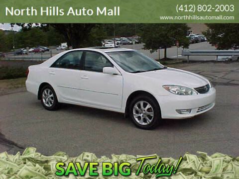 2005 Toyota Camry for sale at North Hills Auto Mall in Pittsburgh PA