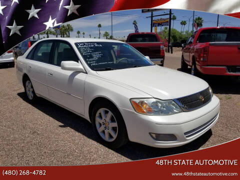 2000 Toyota Avalon for sale at 48TH STATE AUTOMOTIVE in Mesa AZ