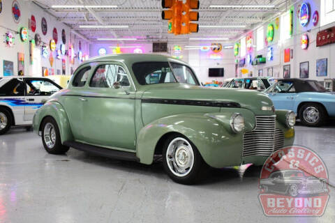 1940 Chevrolet Sedan for sale at Classics and Beyond Auto Gallery in Wayne MI