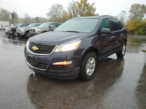 2016 Chevrolet Traverse for sale at Cruisin' Auto Sales in Madison IN