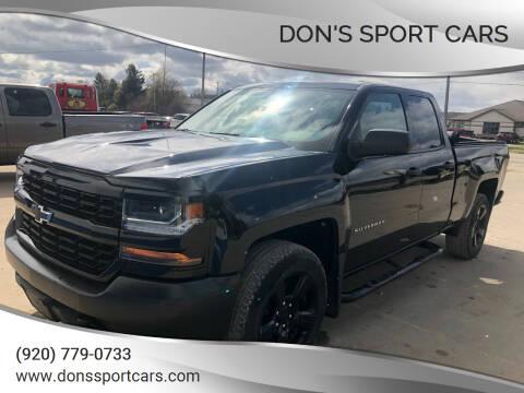 2018 Chevrolet Silverado 1500 for sale at Don's Sport Cars in Hortonville WI