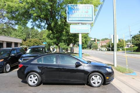 2014 Chevrolet Cruze for sale at North Hills Motors in Raleigh NC