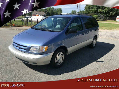 2000 Toyota Sienna for sale at Street Source Auto LLC in Hickory NC