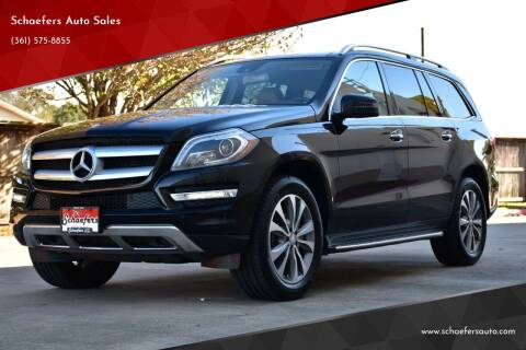 2015 Mercedes-Benz GL-Class for sale at Schaefers Auto Sales in Victoria TX