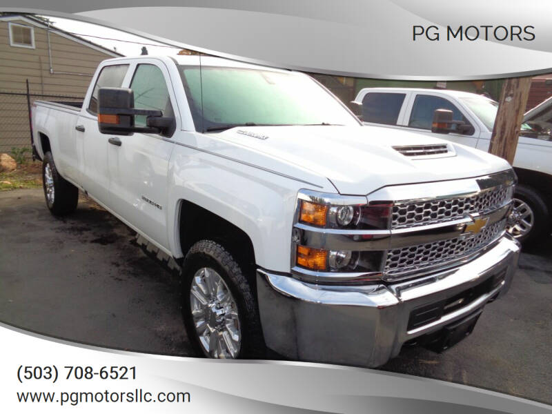 2019 Chevrolet Silverado 2500HD for sale at PG Motors in Portland OR