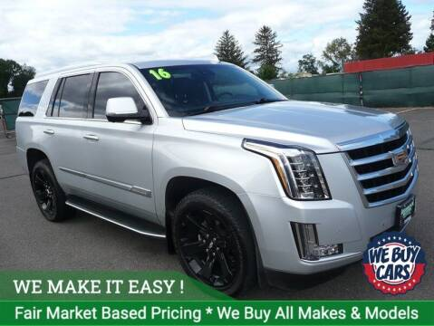 2016 Cadillac Escalade for sale at Shamrock Motors in East Windsor CT