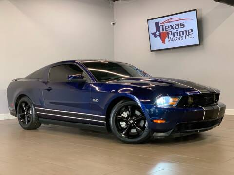 2011 Ford Mustang for sale at Texas Prime Motors in Houston TX