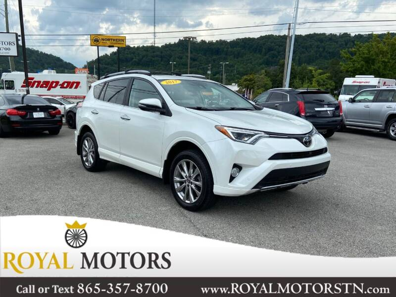 2017 Toyota RAV4 for sale at ROYAL MOTORS LLC in Knoxville TN