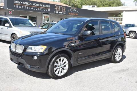 2013 BMW X3 for sale at DeWitt Motor Sales in Sarasota FL