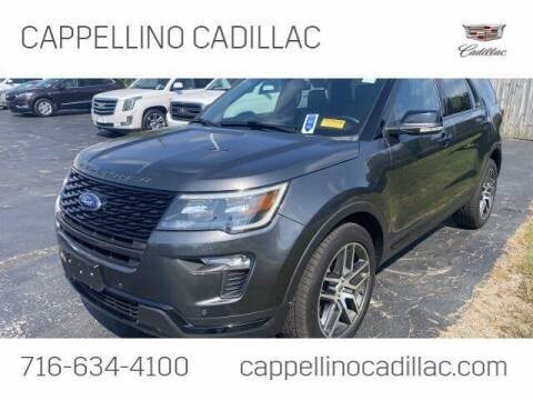 2018 Ford Explorer for sale at Cappellino Cadillac in Williamsville NY