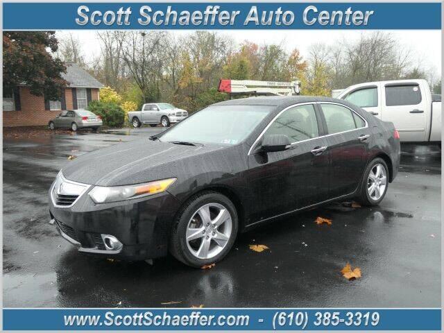 2012 Acura TSX for sale at Scott Schaeffer Auto Center in Birdsboro PA