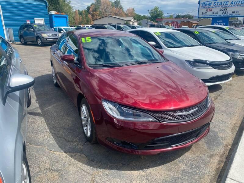 2015 Chrysler 200 for sale in Boise, ID