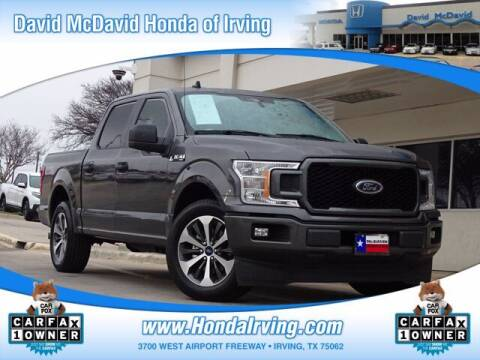 2020 Ford F-150 for sale at DAVID McDAVID HONDA OF IRVING in Irving TX