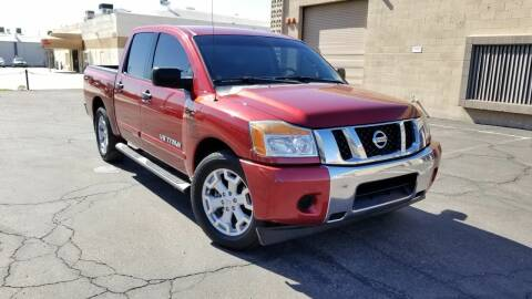 2013 Nissan Titan for sale at EXPRESS AUTO GROUP in Phoenix AZ
