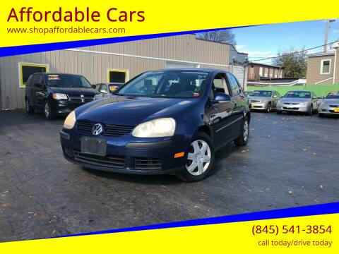 2007 Volkswagen Rabbit for sale at Affordable Cars in Kingston NY