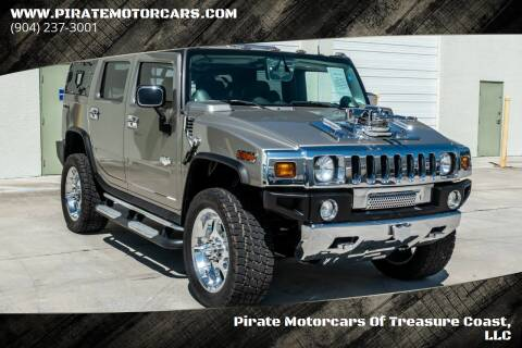 2003 HUMMER H2 for sale at Pirate Motorcars Of Treasure Coast, LLC in Stuart FL