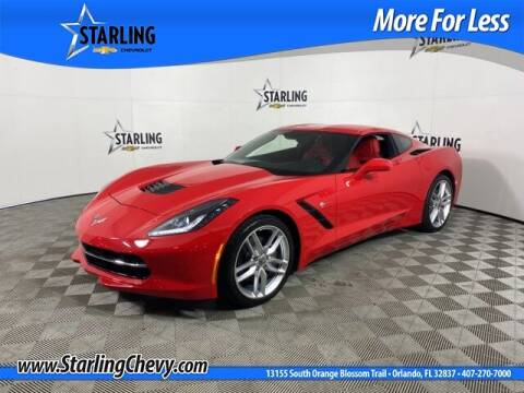 2019 Chevrolet Corvette for sale at Pedro @ Starling Chevrolet in Orlando FL