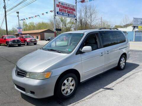 2002 Honda Odyssey for sale at INTERNATIONAL AUTO SALES LLC in Latrobe PA