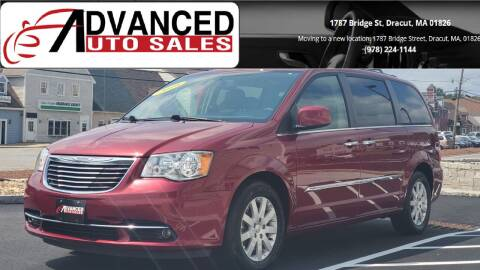 2016 Chrysler Town and Country for sale at Advanced Auto Sales in Dracut MA