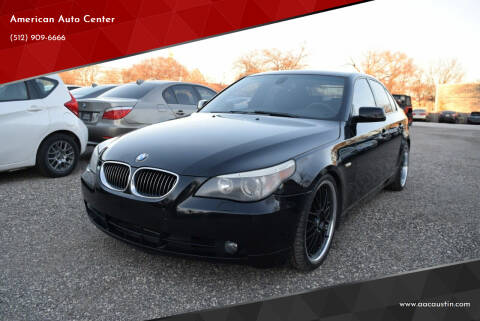 2006 BMW 5 Series for sale at American Auto Center in Austin TX