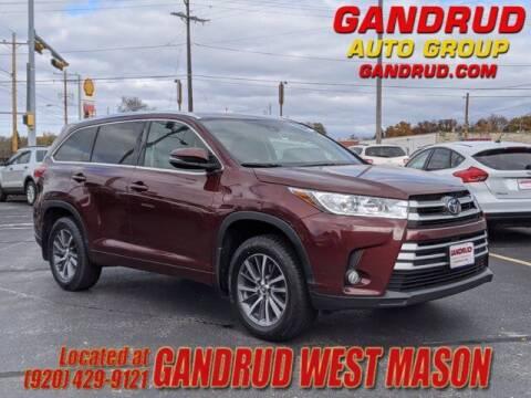 2017 Toyota Highlander for sale at GANDRUD CHEVROLET in Green Bay WI