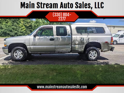 2000 Chevrolet Silverado 1500 for sale at Main Stream Auto Sales, LLC in Wooster OH