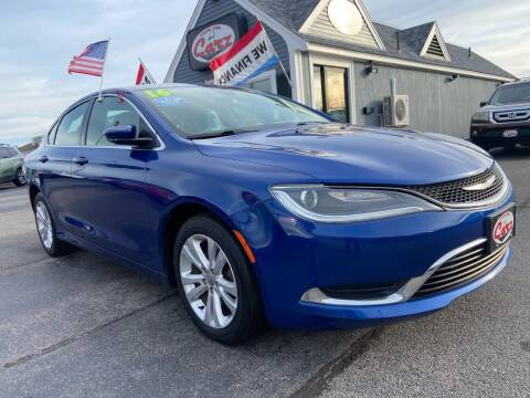 2016 Chrysler 200 for sale at Cape Cod Carz in Hyannis MA