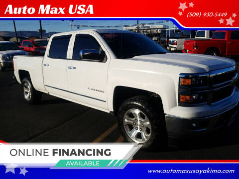 2014 Chevrolet Silverado 1500 for sale at Auto Max USA in Yakima WA