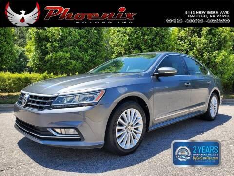 2016 Volkswagen Passat for sale at Phoenix Motors Inc in Raleigh NC