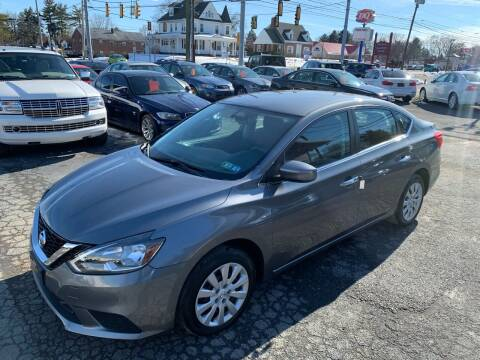 2018 Nissan Sentra for sale at Masic Motors, Inc. in Harrisburg PA
