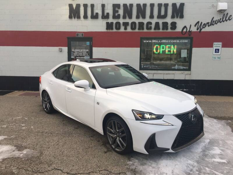 2017 Lexus IS 300 for sale at Millennium Motorcars in Yorkville IL