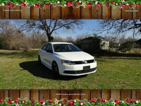 2014 Volkswagen Jetta for sale at Vamos-Motorplex in Lewisville TX