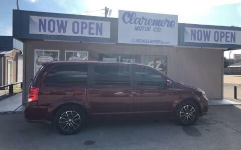 2017 Dodge Grand Caravan for sale at Claremore Motor Company in Claremore OK