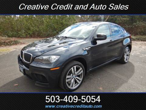 2011 BMW X6 M for sale at Creative Credit & Auto Sales in Salem OR
