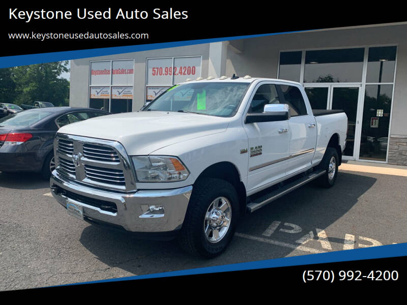 2013 RAM Ram Pickup 2500 for sale at Keystone Used Auto Sales in Brodheadsville PA