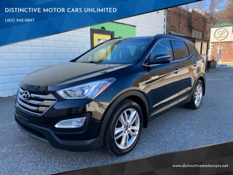 2015 Hyundai Santa Fe Sport for sale at DISTINCTIVE MOTOR CARS UNLIMITED in Johnston RI