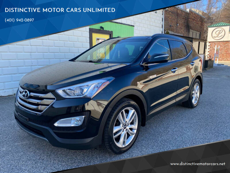 2015 Hyundai Santa Fe Sport for sale at DISTINCTIVE MOTOR CARS UNLIMITED in Johnston RI
