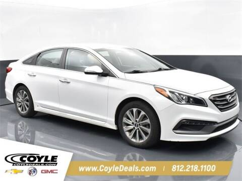 2017 Hyundai Sonata for sale at COYLE GM - COYLE NISSAN - New Inventory in Clarksville IN
