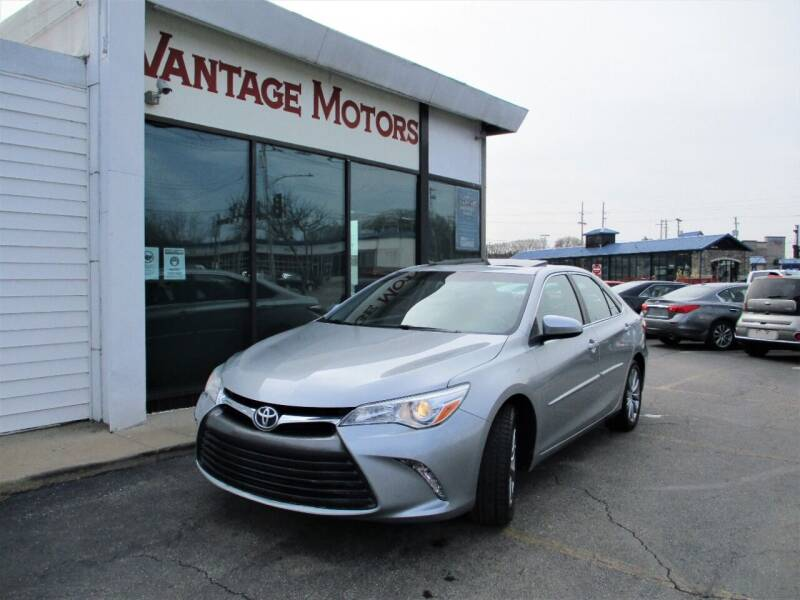 2015 Toyota Camry for sale at Vantage Motors LLC in Raytown MO