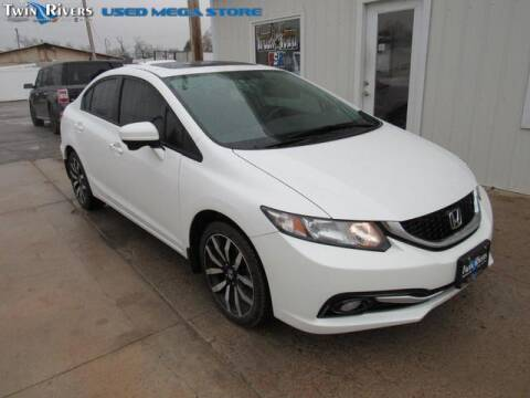 2015 Honda Civic for sale at TWIN RIVERS CHRYSLER JEEP DODGE RAM in Beatrice NE