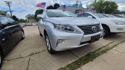 2015 Lexus RX 350 for sale at LOT 51 AUTO SALES in Madison WI