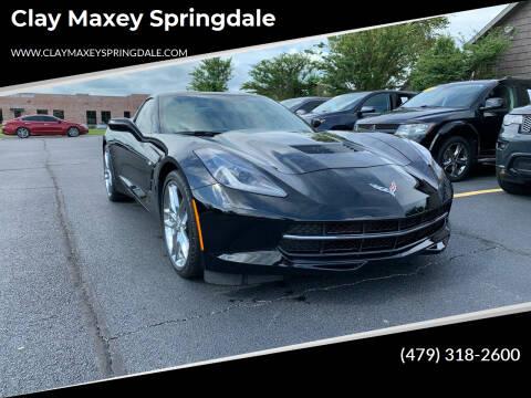 2019 Chevrolet Corvette for sale at Clay Maxey Springdale in Springdale AR