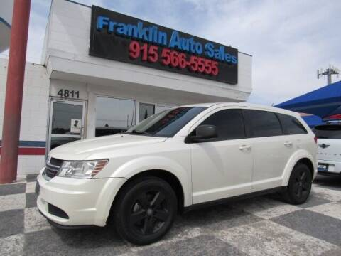 2013 Dodge Journey for sale at Franklin Auto Sales in El Paso TX