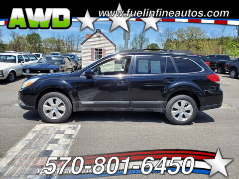 2011 Subaru Outback for sale at FUELIN FINE AUTO SALES INC in Saylorsburg PA