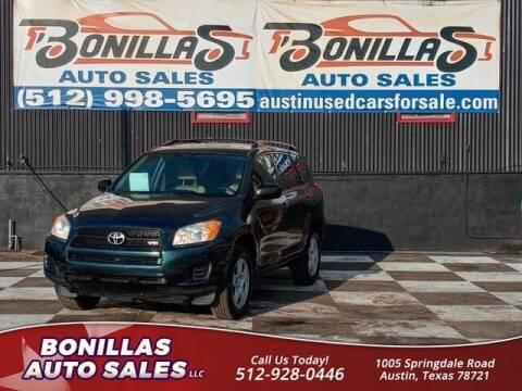 2011 Toyota RAV4 for sale at Bonillas Auto Sales in Austin TX