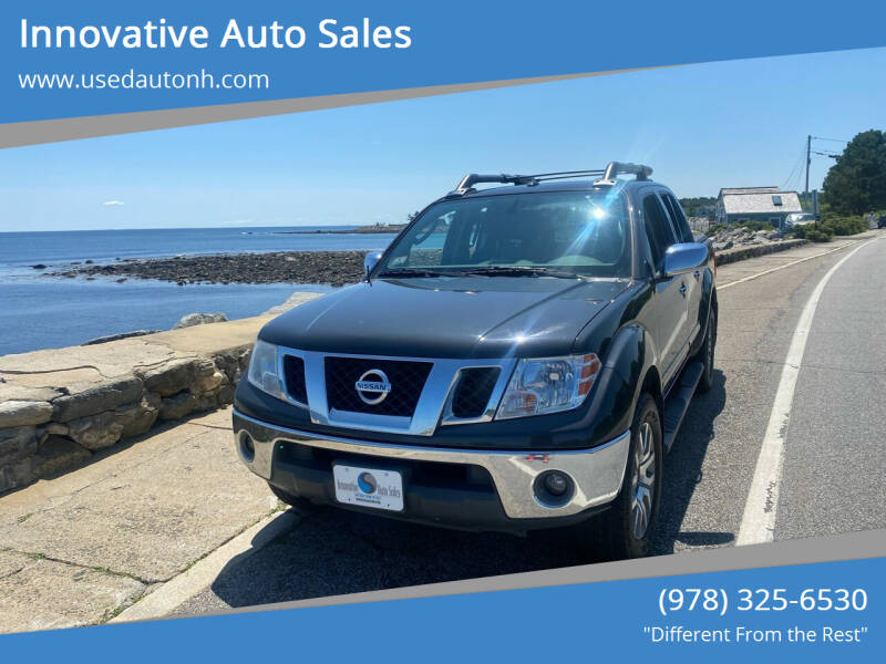 2010 Nissan Frontier for sale at Innovative Auto Sales in North Hampton NH